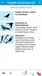 Vogels van Europa total screenshot 6/6