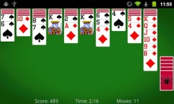 Spider Solitaire by MobilityWare v1 screenshot 3/5