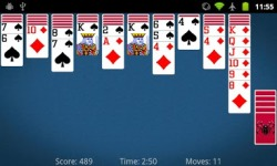 Spider Solitaire by MobilityWare v1 screenshot 4/5