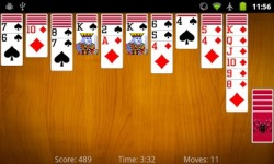 Spider Solitaire by MobilityWare v1 screenshot 5/5