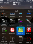 PhotoCard for Blackberry® screenshot 1/6