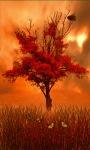 Red Tree Live Wallpaper screenshot 1/3