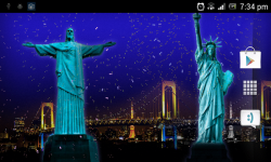hd fireworks 3d live wallpaper screenshot 3/3