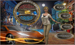 Free Hidden Objects Game - Midnight Crisis screenshot 1/4
