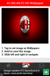 AC MILAN FC HD Wallpaper screenshot 3/5