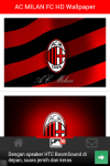 AC MILAN FC HD Wallpaper screenshot 5/5