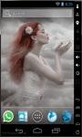 Girl Of Clouds Live Wallpaper screenshot 1/2