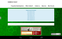 Shamrock Faucet screenshot 1/3