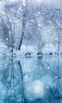 Winter Snowfall Live Wallpaper 2 screenshot 1/3
