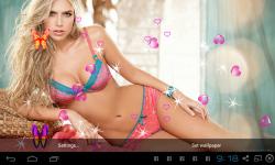 Hottest Girls Live Wallpapers screenshot 4/4