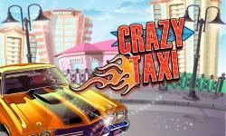 City Crazy Taxi Ride 3D screenshot 1/5