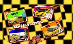 City Crazy Taxi Ride 3D screenshot 4/5