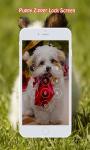 Puppy Zipper Lock Screen screenshot 2/6