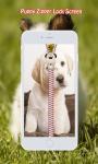 Puppy Zipper Lock Screen screenshot 3/6