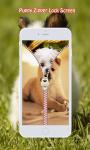 Puppy Zipper Lock Screen screenshot 5/6