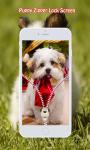 Puppy Zipper Lock Screen screenshot 6/6