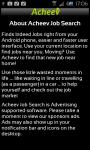 Job Search Acheev Android App screenshot 4/4