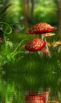 Mushroom Park Live Wallpaper screenshot 3/3