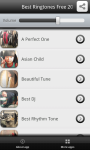 Best Ringtones 2014 screenshot 2/4