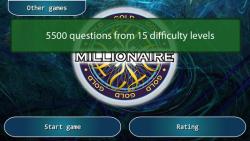 Millionaire GOLD screenshot 1/6