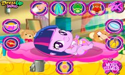 Rainbow and Twilight Babies Pony screenshot 2/3