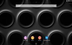 XPERIA Black Steel Theme emergent screenshot 1/6