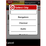 HotDeals on Java screenshot 2/6