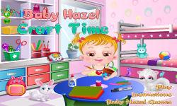 Baby Hazel Craft Time screenshot 1/6