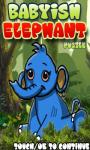 Babyish Elephant Free screenshot 1/3
