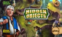 Mystery man at Hunted House Escape Hidden Object screenshot 1/5