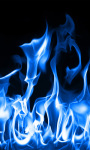 Blue Fire Live Wallpaper 2 screenshot 1/4