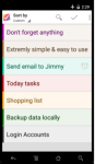 NoteDoList - NO INTERNET NO LOGIN REQUIRED screenshot 1/6
