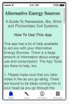 Alternative Energy Sources screenshot 1/5