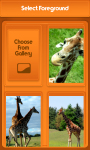 Giraffe Zipper Lock Screen screenshot 3/6
