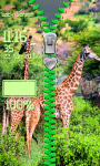Giraffe Zipper Lock Screen screenshot 5/6