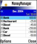 MoneyManager screenshot 1/1