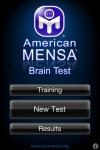 Mensa Brain Test screenshot 1/1