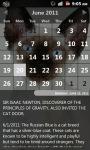 Cat Calendar screenshot 2/3