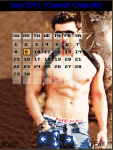 Six Pack Bollywood Superstar Calendar 2015 screenshot 2/3