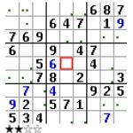 Baboons Sudoku screenshot 1/1