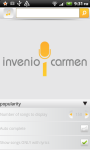 Invenio Carmen screenshot 1/5