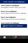 Javier Zanetti Live Wallpaper Free screenshot 2/5