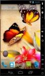 Colorful Butterflies Live Wallpaper screenshot 2/2