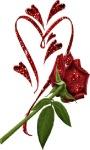 Heart Rose Shine LWP screenshot 1/3