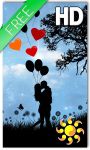 Romantic Live Wallpaper HD Free screenshot 1/2