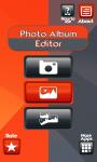 Photo Album Editor Free screenshot 1/6