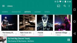 Shuttle Music Player proper screenshot 5/6