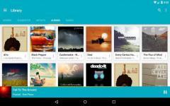 Shuttle Music Player proper screenshot 6/6