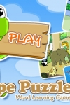 Shape Puzzle Free - Word Learning Game for Kids screenshot 1/1
