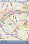 Paris Street Map. screenshot 1/1